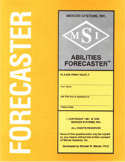 abilities forecaster